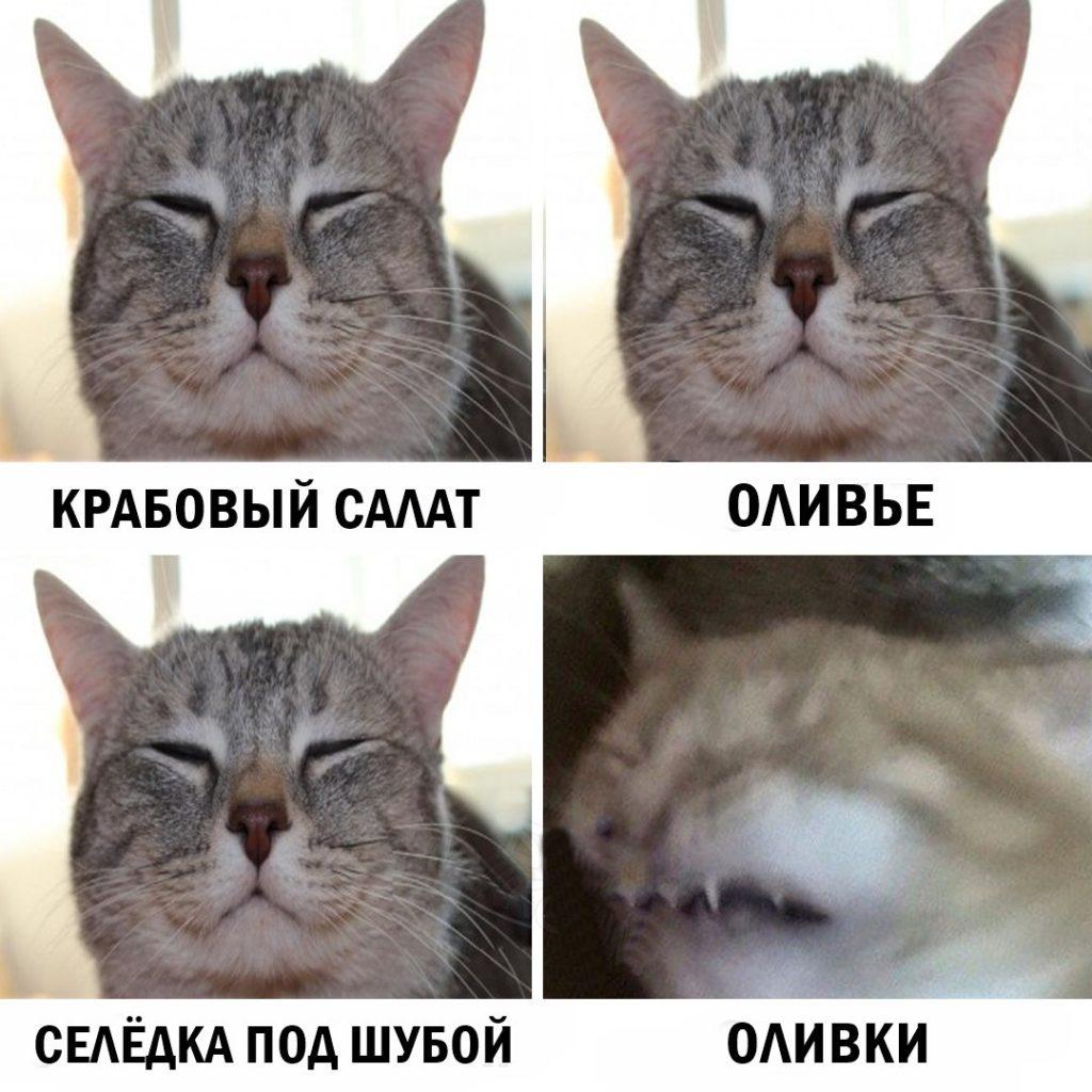 Топ смешных предновогодних мемов