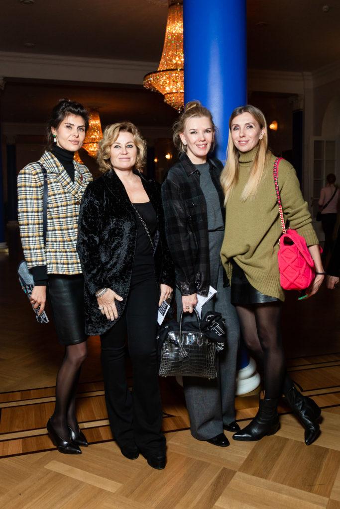 Роман Абрамович, Полина Киценко и Светлана Бондарчук на открытии фестиваля Context. Diana Vishneva.