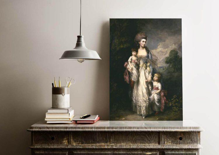 Постер ABCdesign (к выставке «Томас Гейнсборо») из специальной коллекции Пушкинского музея, цена по запросу (artsmuseumshop.ru)