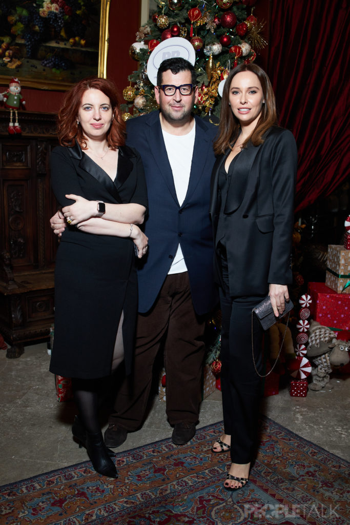 Светлана Бондарчук, Матильда Шнурова и Надежда Михалкова на благотворительном вечере Action! 2019