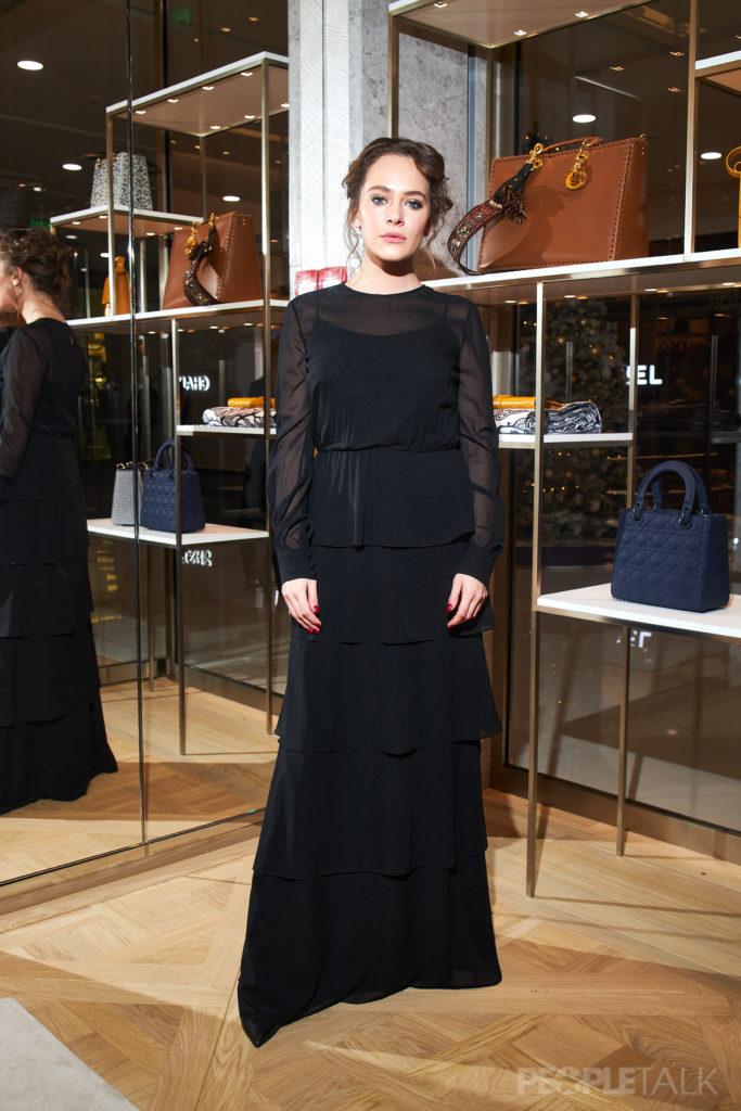 Аглая Тарасова и Анастасия Уколова на открытии нового бутика Dior