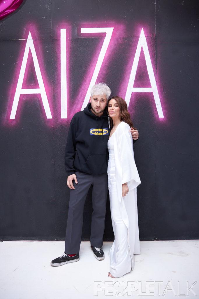 Гоша Полянский и Айза Анохина