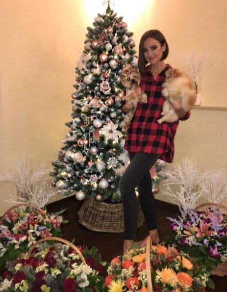 Готовимся к Новому году: показываем, как новогодние ёлки украшены у знаменитостей