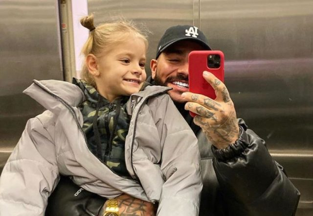 Самые милые фото Тимати с дочкой