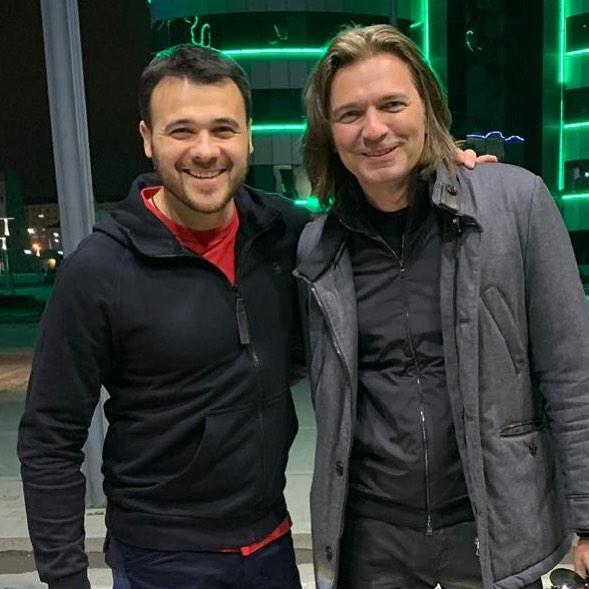 С Эмином Агаларовым