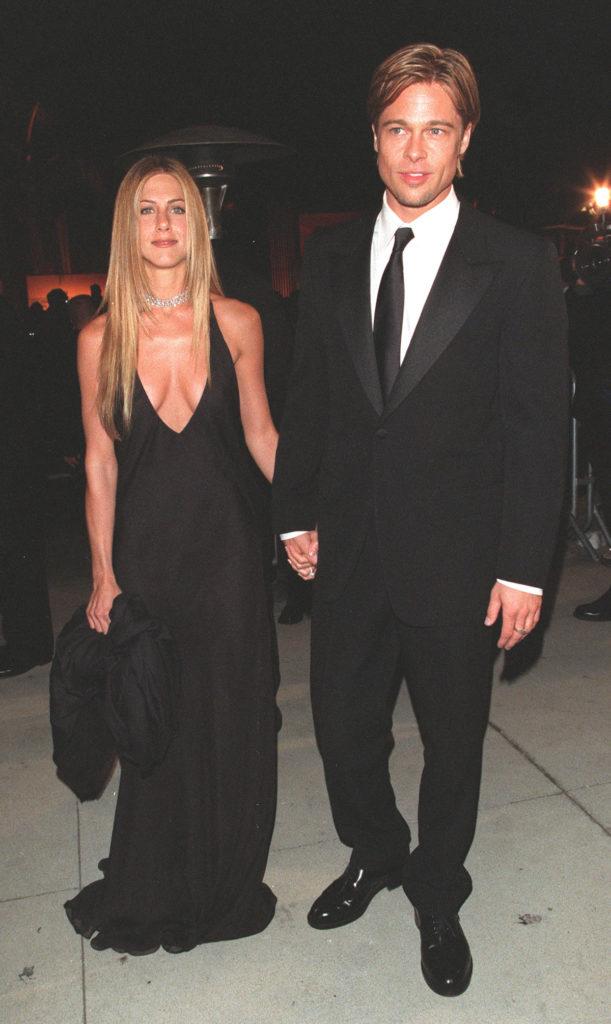Брэд Питт и Дженнифер Энистон, 2000