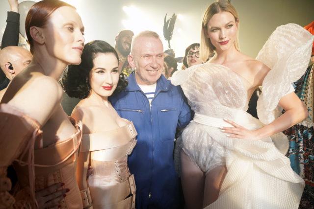 Головний тренд весни: блискітки, як на показі Jean Paul Gaultier