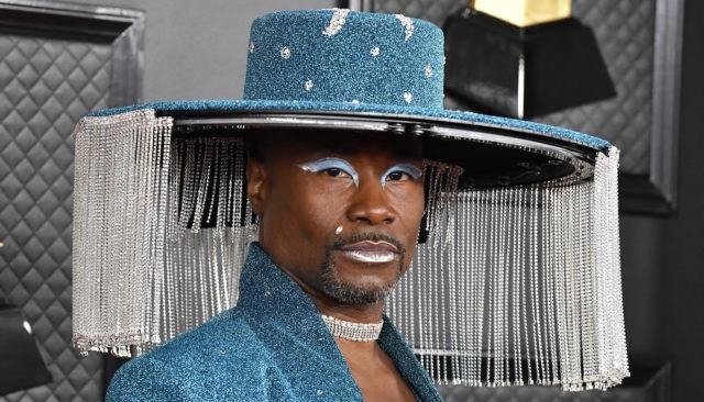 Манікюр, макіяж і капелюх Біллі Портера на премії «Греммі - 2020»
