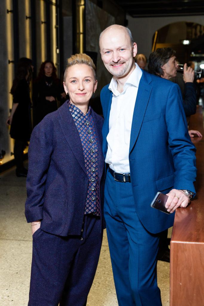 Ирина Золина и Михаил Струков