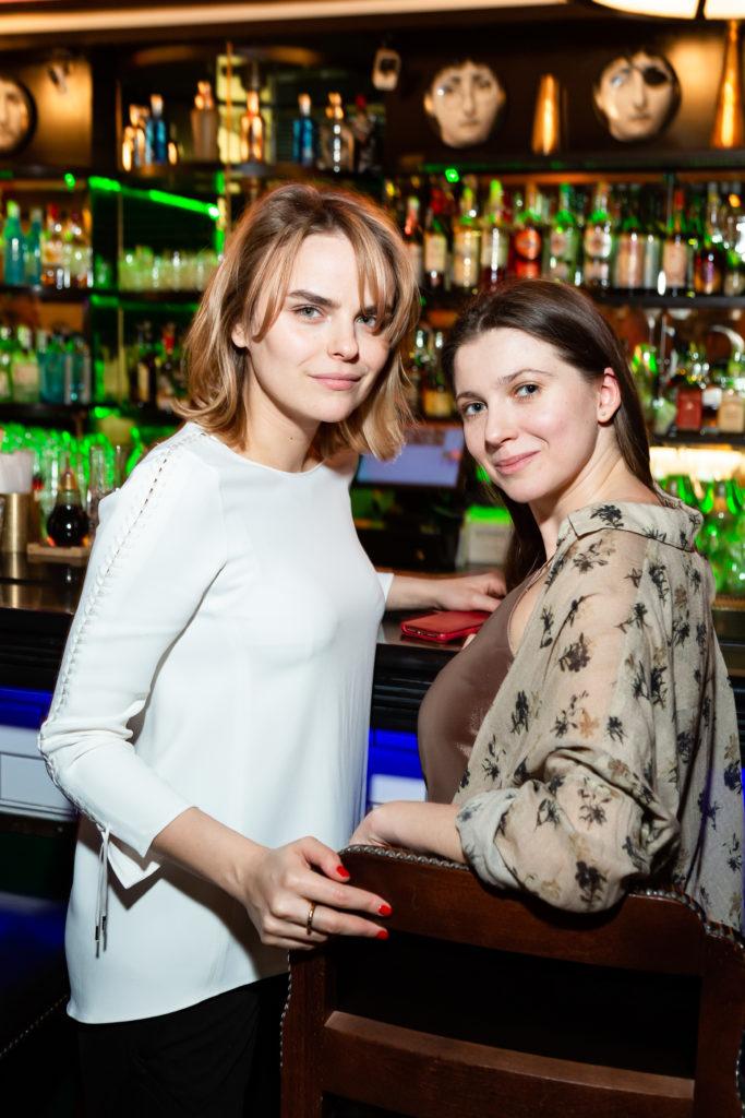 Нина Михайлюк и Мария Беляева