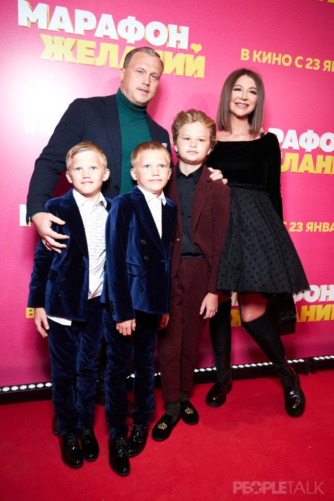 Алексей и Елена Блиновские с детьми