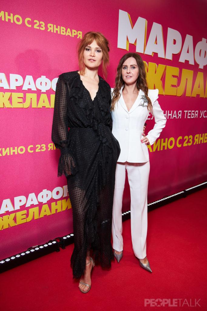 Дарья Чаруша и продюсер Екатерина Кононенко