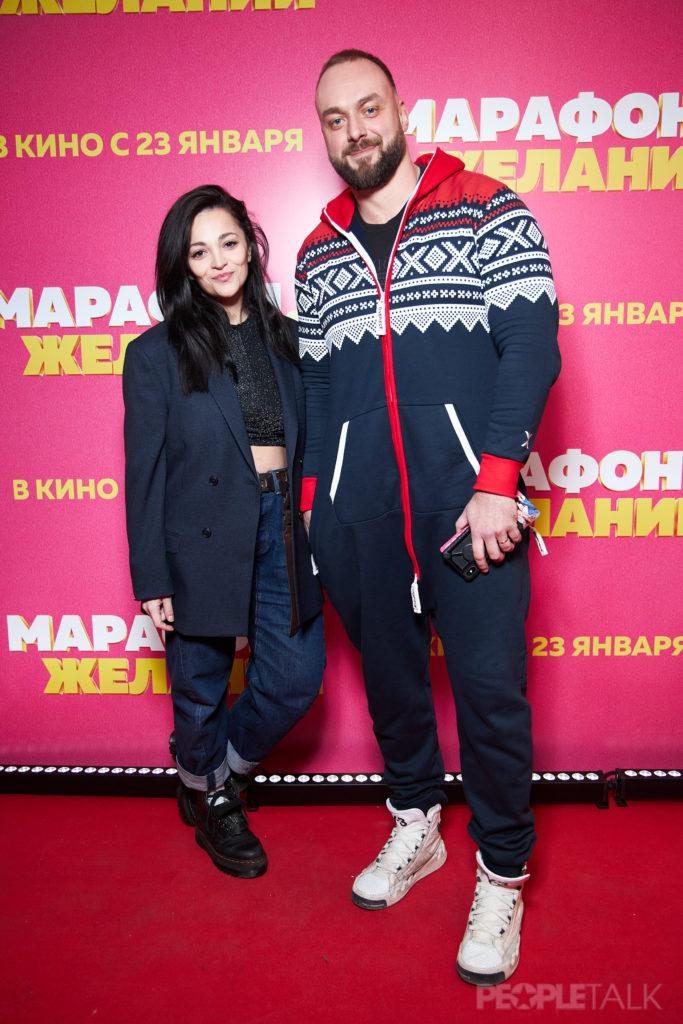 Теона Дольникова и Максим Щеголев