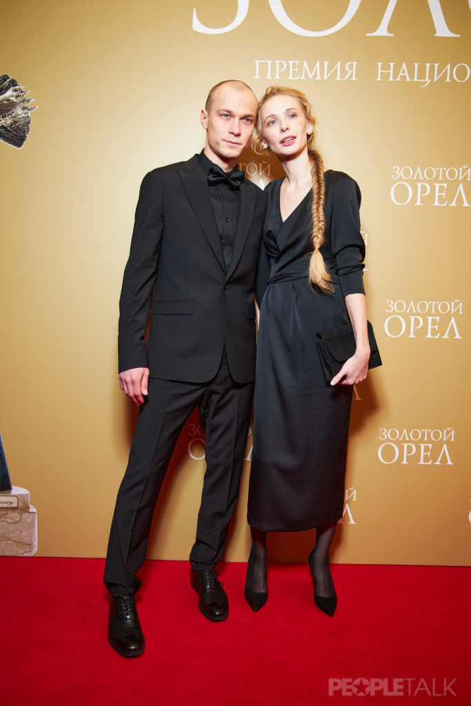 Юрий Борисов с супругой Анной Шевчук