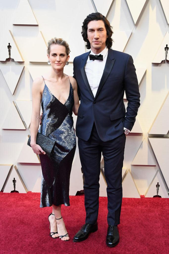 Джоанн Такер и Адам Драйвер (женаты с 2013 года)
