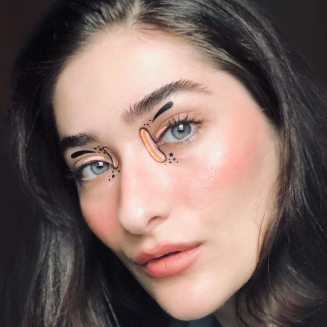 Идея для макияжа: аккаунт в Instagram с мультяшным мейком14