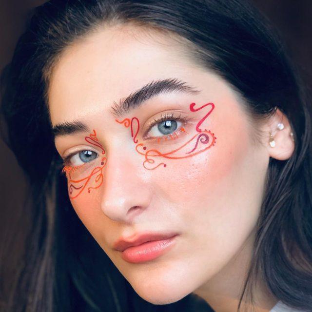Идея для макияжа: аккаунт в Instagram с мультяшным мейком13