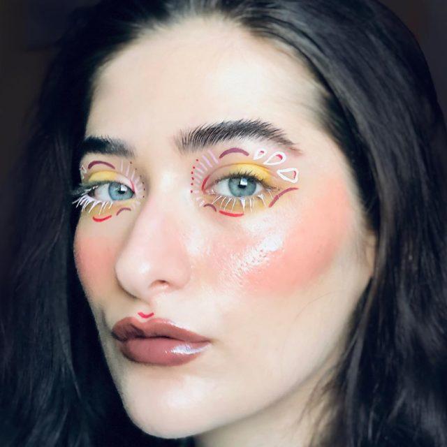 Идея для макияжа: аккаунт в Instagram с мультяшным мейком12