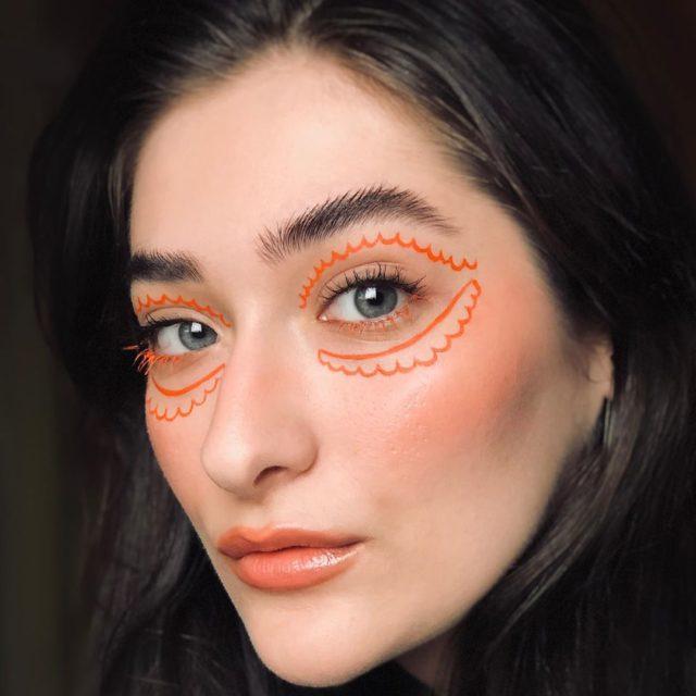 Идея для макияжа: аккаунт в Instagram с мультяшным мейком11