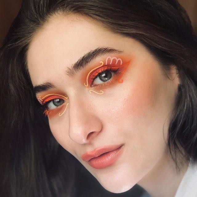 Идея для макияжа: аккаунт в Instagram с мультяшным мейком10