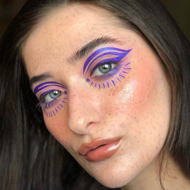 Идея для макияжа: аккаунт в Instagram с мультяшным мейком7