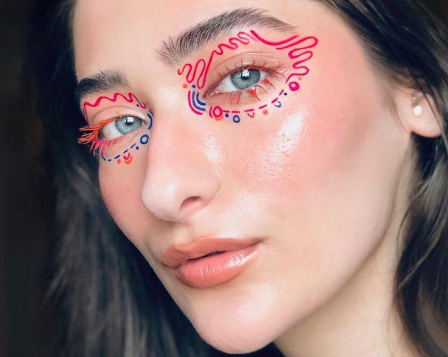Идея для макияжа: аккаунт в Instagram с мультяшным мейком0