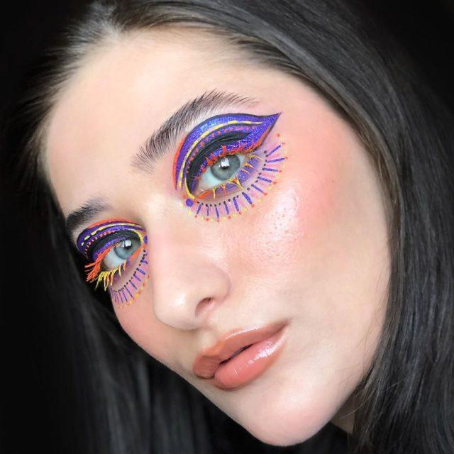Идея для макияжа: аккаунт в Instagram с мультяшным мейком5