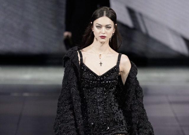 Показ Dolce & Gabbana на Тижні моди в Мілані