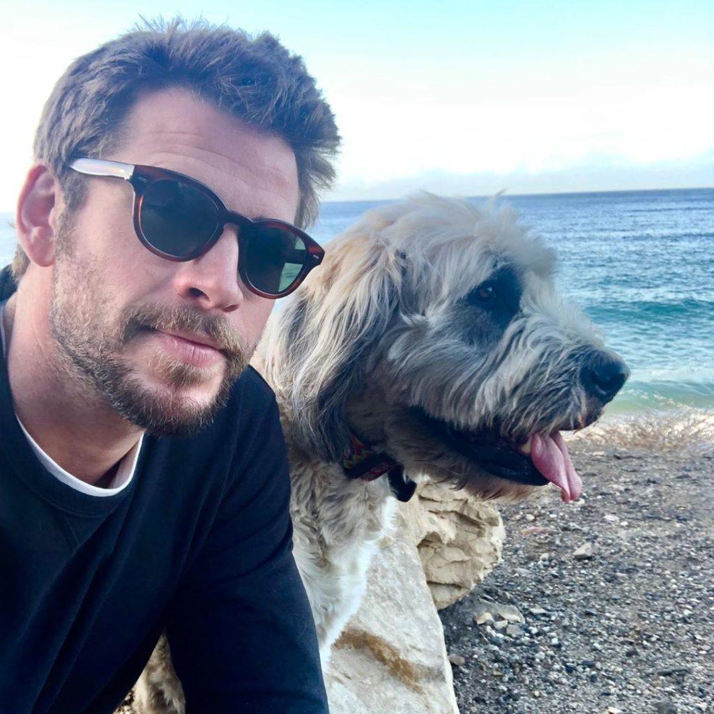 Актер и его собака Дора