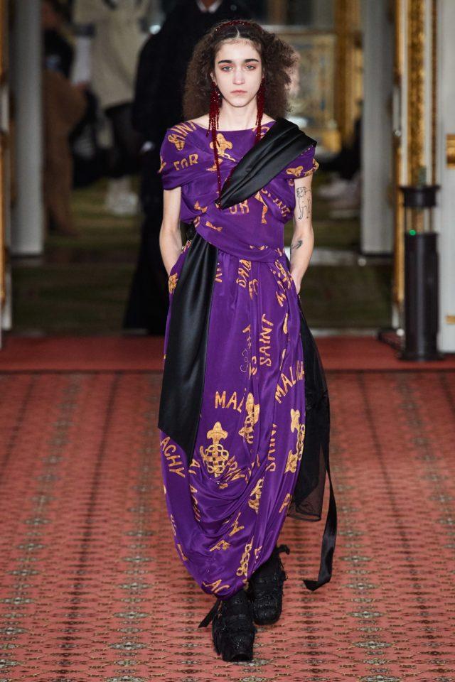Показ Simone Rocha на Неделе моды в Лондоне15