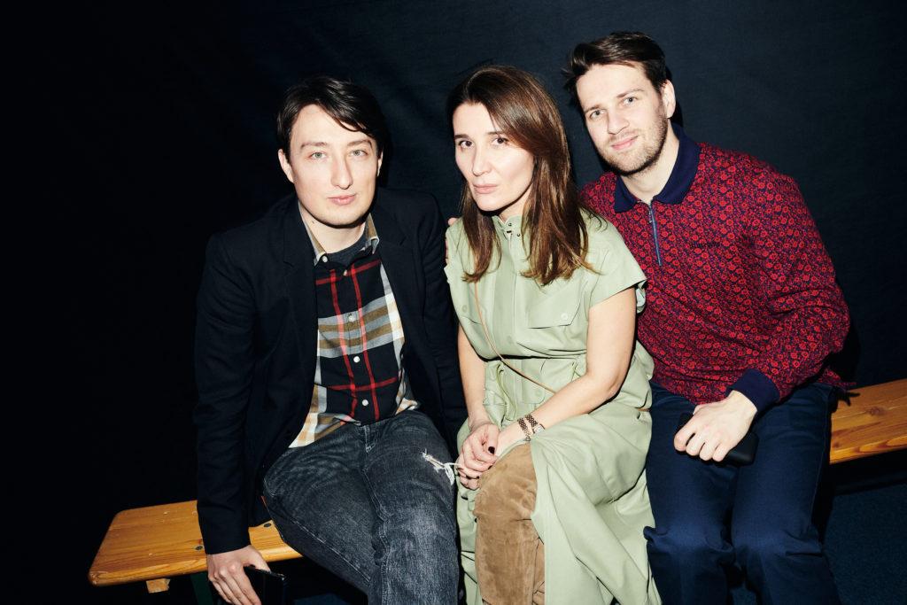 Александр Радаев, Джульетта Гурман и Александр Егоршин