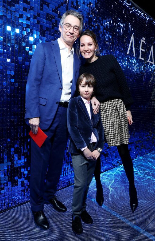 Антон и Дарья Златопольские с сыном