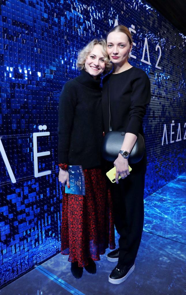 Анна Бегунова и Екатерина Вилкова