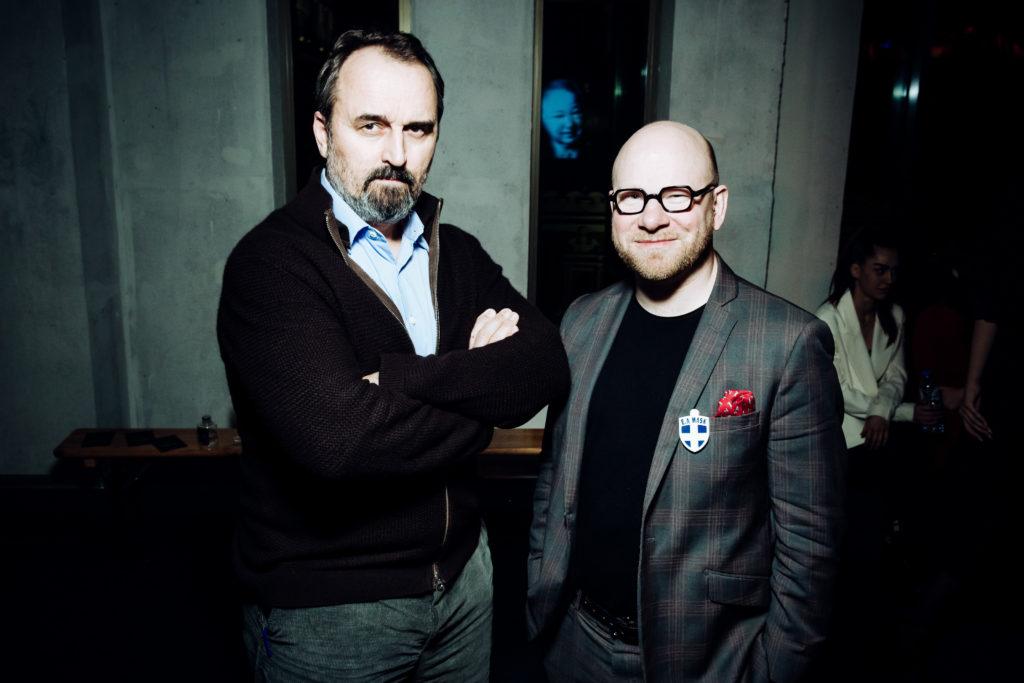 Дмитрий Аксенов и Николай Палажченко