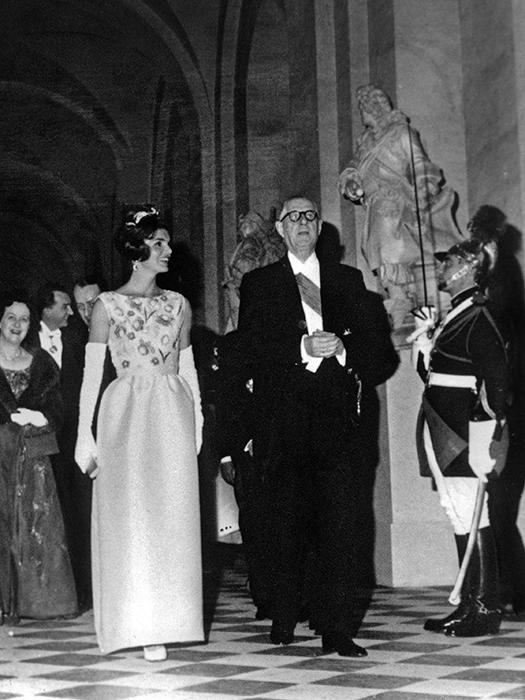 Жаклин Кеннеди, 1961 год