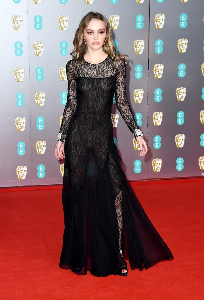 Лили-Роуз на премии BAFTA-2020