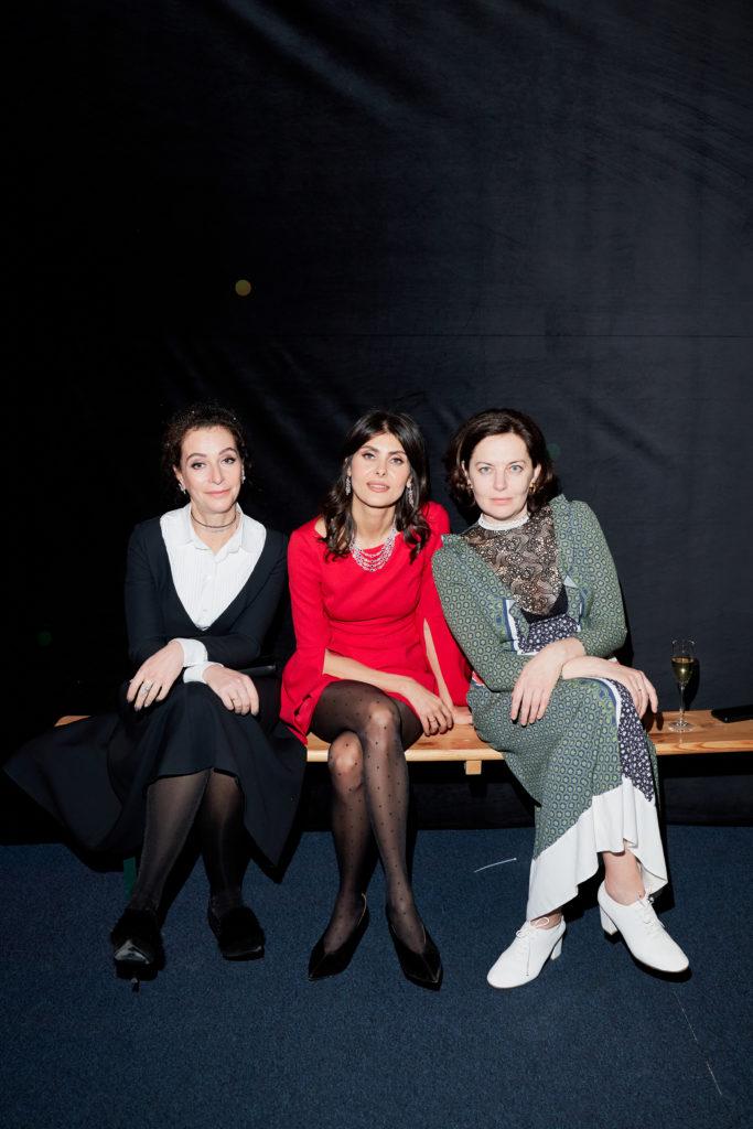 Ирина Кудрина, Надежда Оболенцева и Анна Дюльгерова