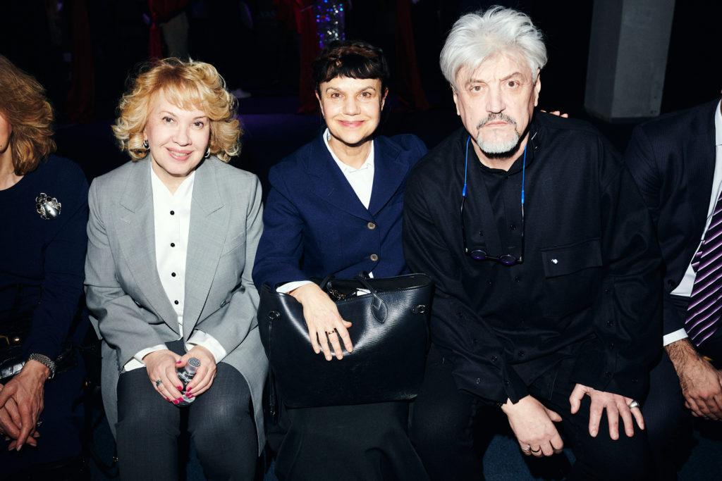 Марина Ревякина, Марина Лошак и Александр Пономарев