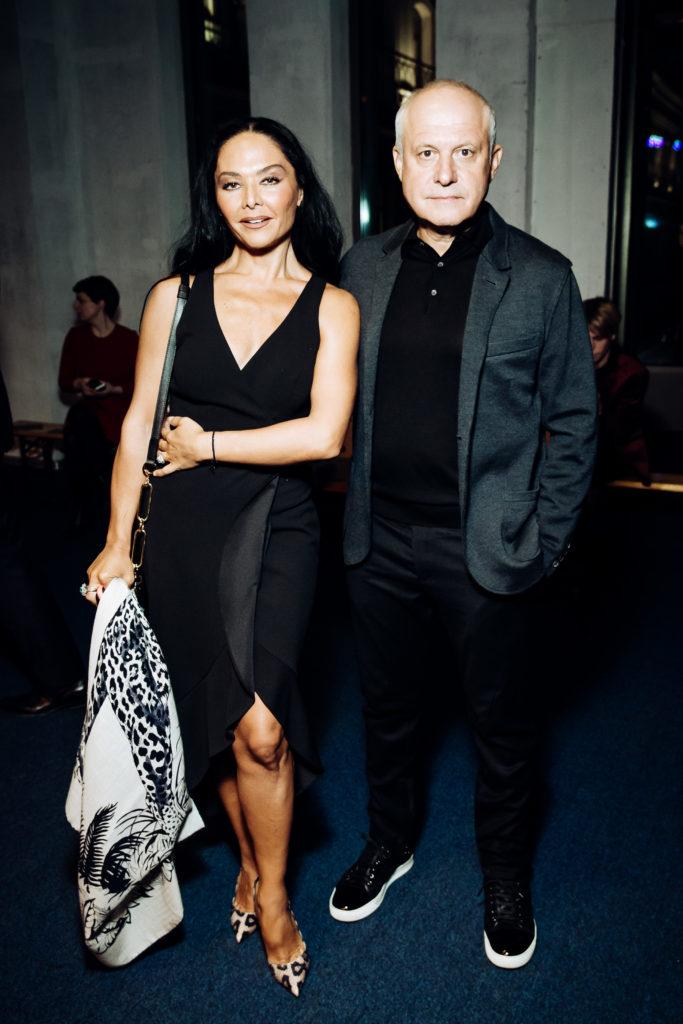 Миранда Мирианишвили и Леонид Огарев