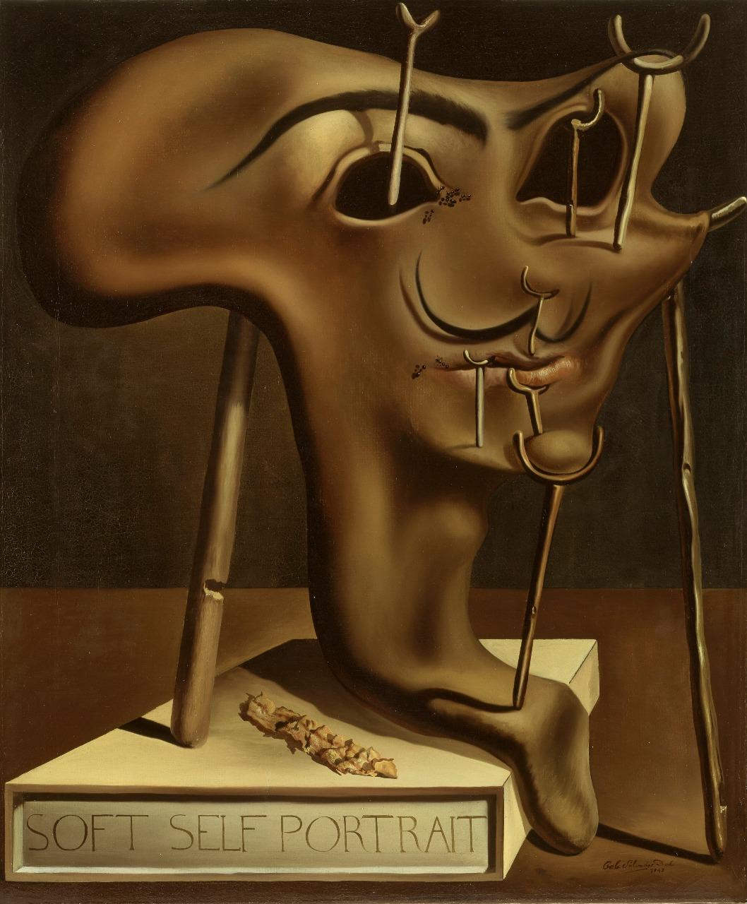 Мягкий автопортрет с жареным беконом. 1941 Фонд «Гала – Сальвадор Дали»