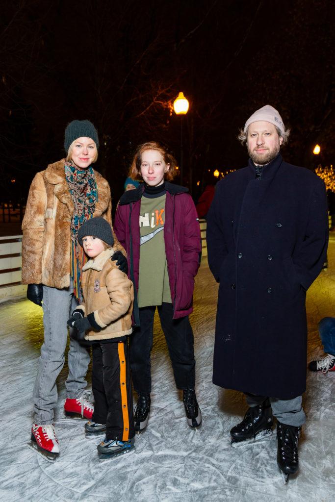 Наталья Догадина И максим Ливси с детьми