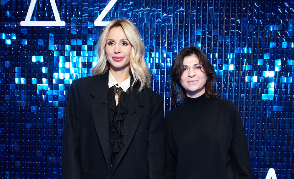 Светлана Лобода и Нателла Крапивина