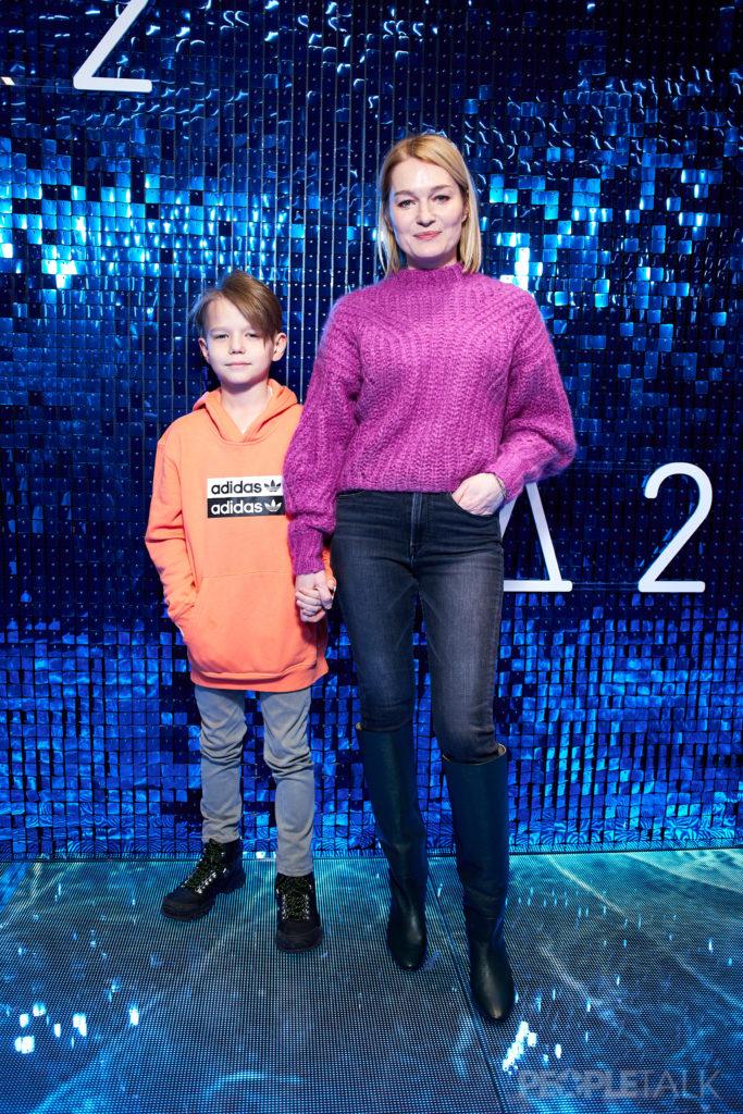Виктория Толстоганова с сыном