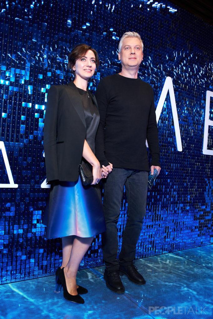 Сергей Светлаков с супругой Антониной Чеботарёвой