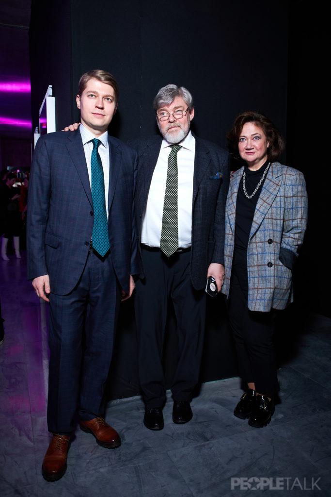 Николай, Константин и Елена Ремчуковы