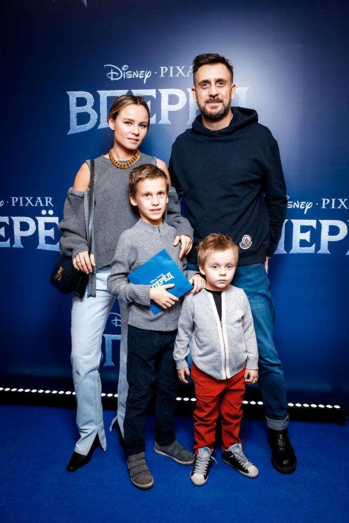 Екатерина и Давид Гуссе с детьми