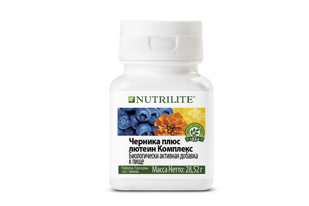 Комплекс NUTRILITE™ черника плюс лютеин, 220 р.