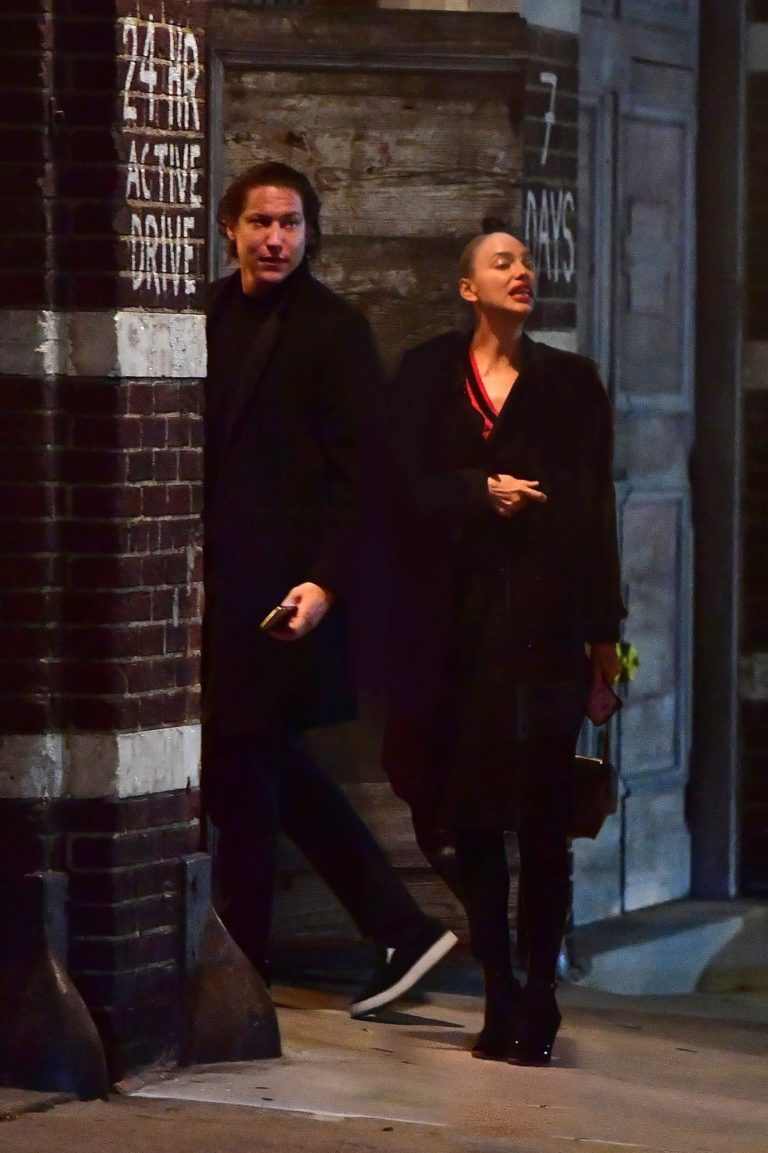 Irina Shayk steps out for late night walk with new beau Vito Schnabel