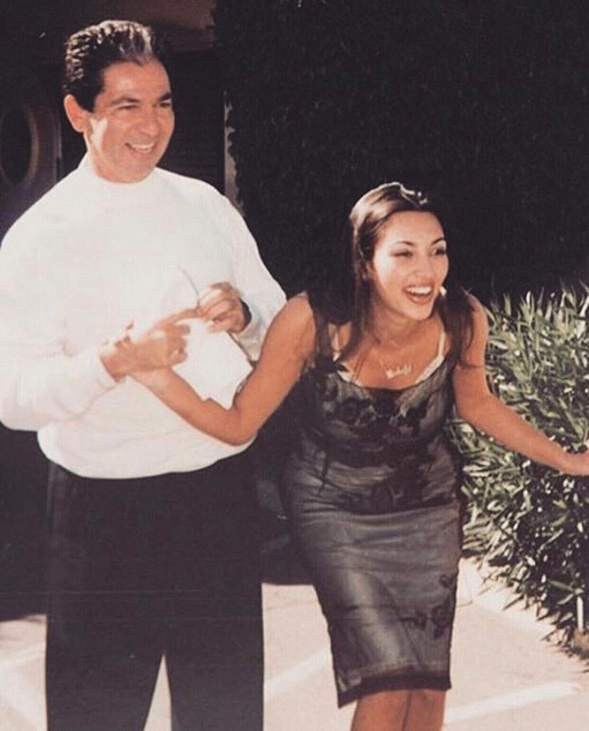 Роберт и Ким Кардашьян (Фото: @kimkardashian)