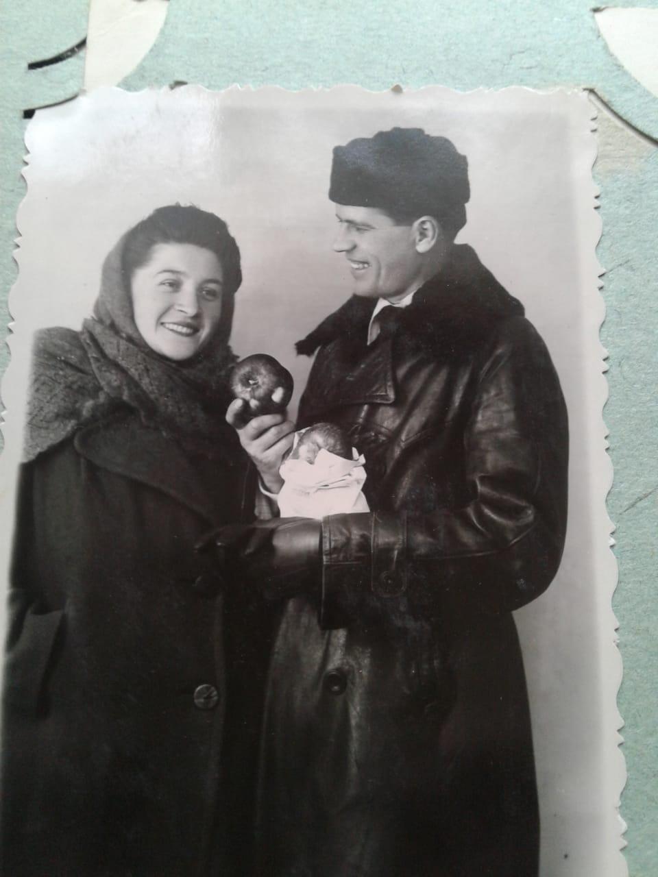 Лия Матвеевна и Георгий Михайлович Ткаченко